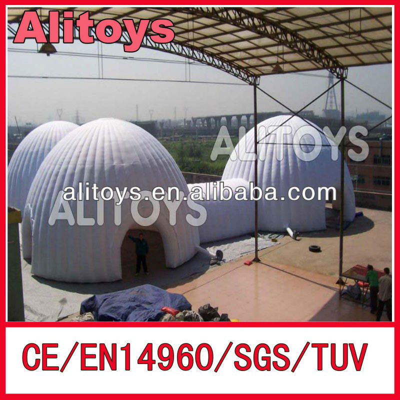 2014~2015 popular! inflatable dome tent rental,inflatable dome tent hire,inflatable dome tent for sale