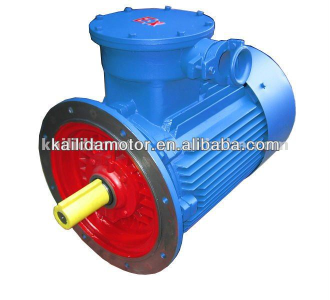 CE UL GOST ANP three phase explosion proof electric motor with flange