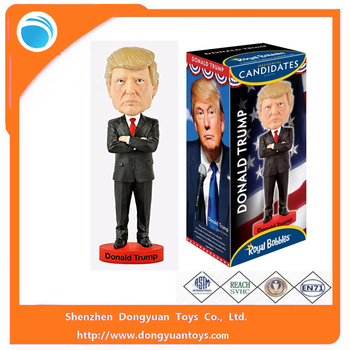 Custom Donald Trump Bobble Head Toy