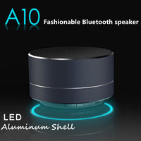 Hot selling promotional gift S10 wireless mini bluetooth speaker new cool speaker model A10 for choice