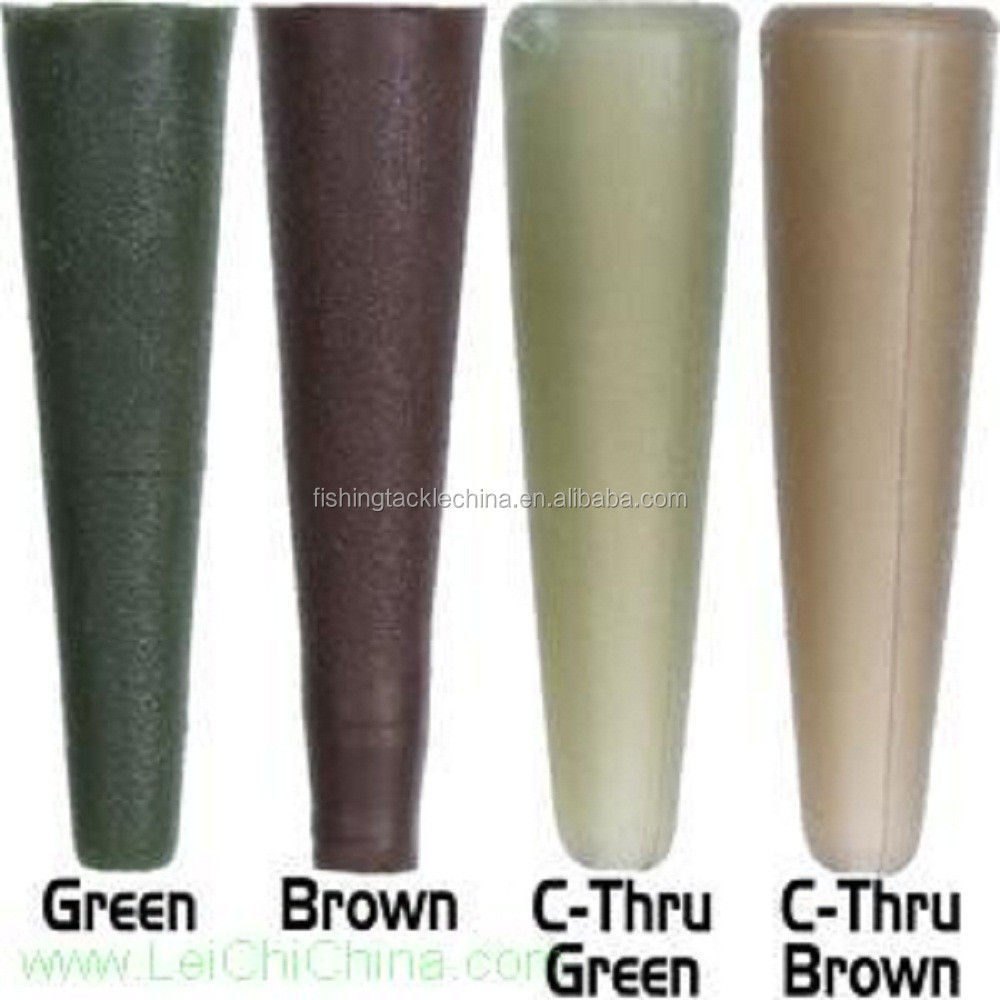 Four colors carp fishing terminal tackle tail rubber