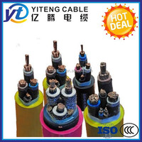 Flexible Rubber Insulated and Sheathed Mining Cable MYJV cable