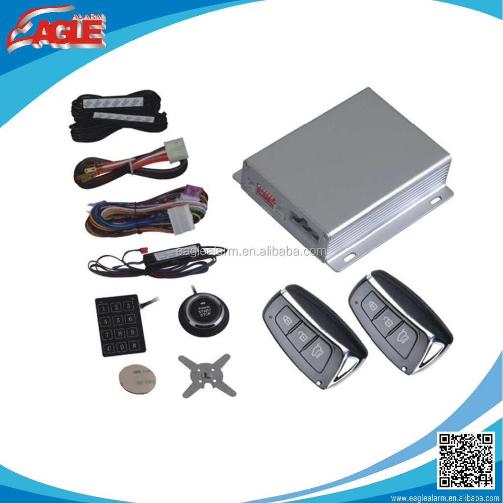 EG-689/006 high quality keyless entry push start button car alarm system