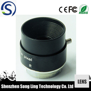 cheapest fixed focus cmos camera lens 4mm