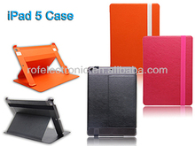 Flip leather case for iPad AIR/iPad 5, for iPad5 iPadAIR stand leather case
