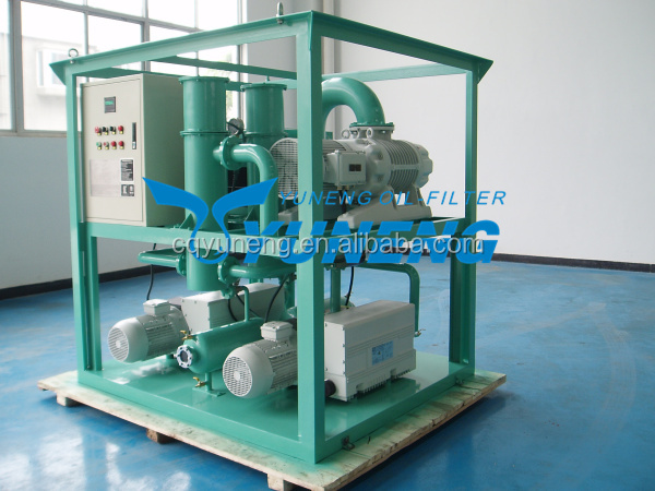 ZJ Series Mobile Vacuum Pumps and Roots Booster Vacuum Pumping Unit for Power Transformer Vacuum Forming