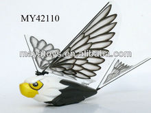 hot sale r/c 2ch bird hunter,remote control flying bird toy with LED light