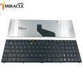 Spanish laptop keyboard for asus x53u keyboard black