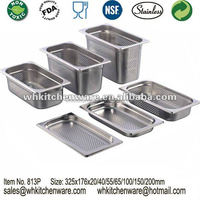 LFGB Stainless steel gastronorm container and more indian restaurant kitchen equipments