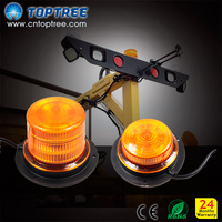 Yellow beacons led warning lights ece r65 led rotating beacon lights with magnetic base