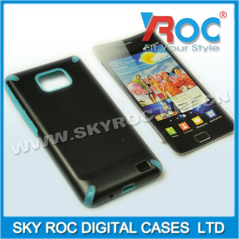 2013 Popular TPU case for samsung i9100 galaxy S2 Durable Protector