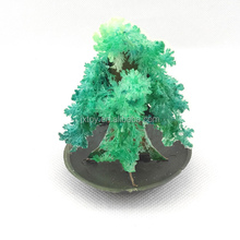 Free sample!!! Colorful magic paper tree with snow