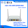 1GE+1FE+WIFI EPON ONU with Realtek Chipset Cost Effective Solution
