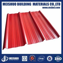color corrugated roofing metal sheets for buildings