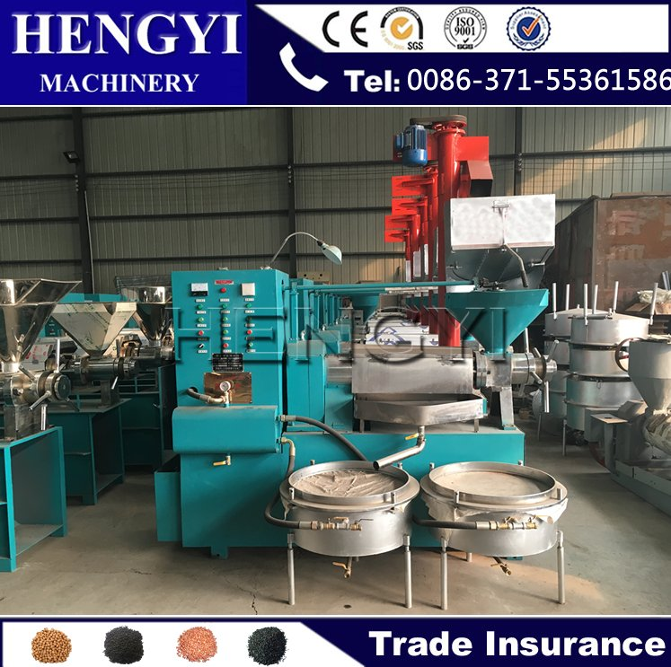 2016 Hot Sale Home Industrial Automatic Cold and Hot Coconut/Soybean/Oilve/ rice bran oil press machine