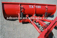 Famous Brand SD SUNCO Tractor Front Snow Blades TX180 with CE Certificate ,Export to Asia,Europ,America,Canada