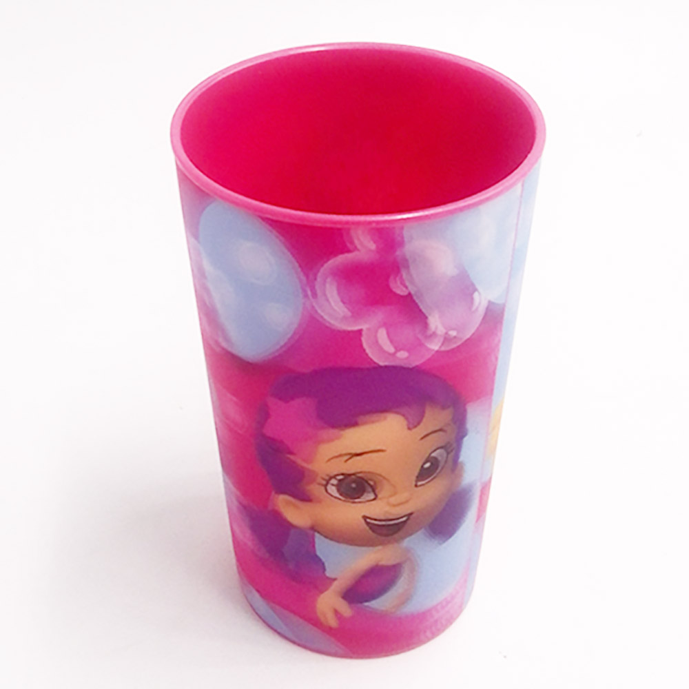BSCI Inspected Factory Custom PP 14oz 3D Lenticular Character Plastic <strong>Cup</strong> for Kids