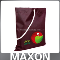 New Arrival long handle oxford reusable promotional shopping bag made in China