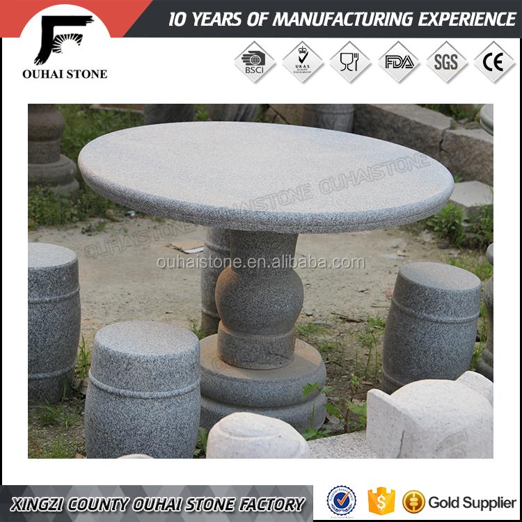 Granito m rmol natural material til sillas banco del for Bancos de granito para jardin