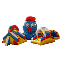 Attractive large inflatable toys combo inflatable sport games for children