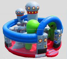 Popular and hot sale inflatable children playground, bouncy castle wholesale