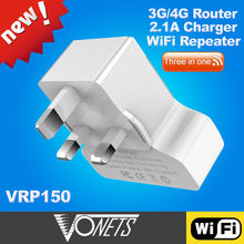 2014 VONETS 300Mbps tenda 3g150b 3g wireless router made in China