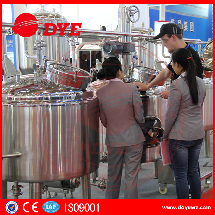 200 gallon stainless steel beer boiler for beer brewery