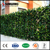 home garden decorating ideas small plastic faux ivy fencing panels