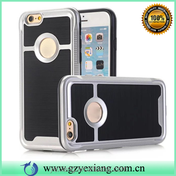 Phone accessory for iphone 4g 2 in 1 case tpu+pc combo armor back cover
