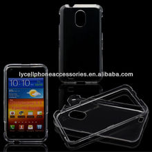 Crystal Clear Transparent Snap-on Hard Protector Skin Cover Cell Phone Case for Samsung Epic 4G Touch Galaxy S II D710 Sprint