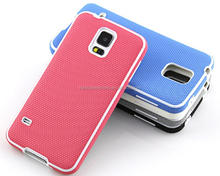 Manufacturers selling grain grooves TPU cases that stick a skin cell phone accessories for samsung S5 i9600