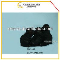 Polyresin Black Bear Statues Home Decoration