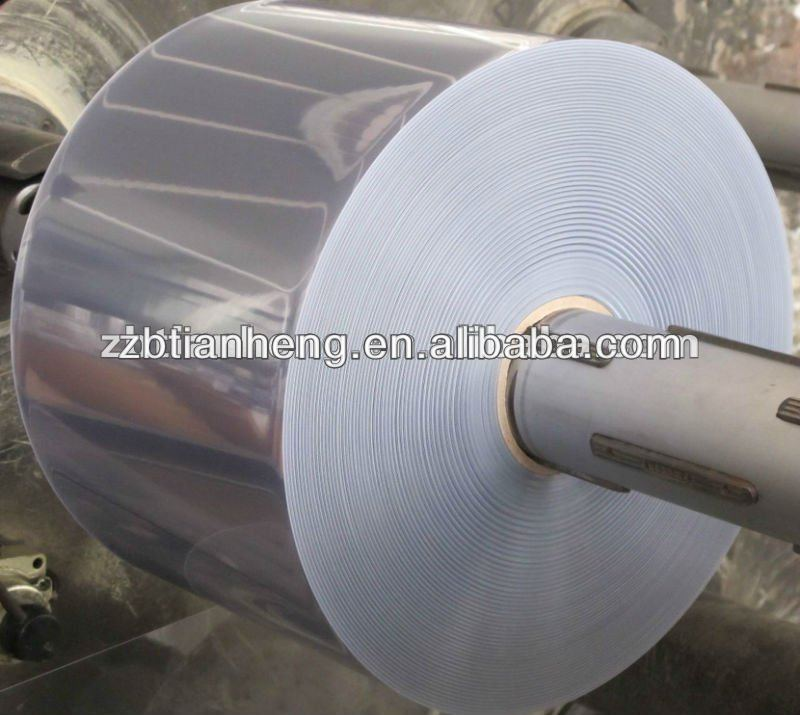 200-250 micron clear /colour rigid pvc sheet for blister pack