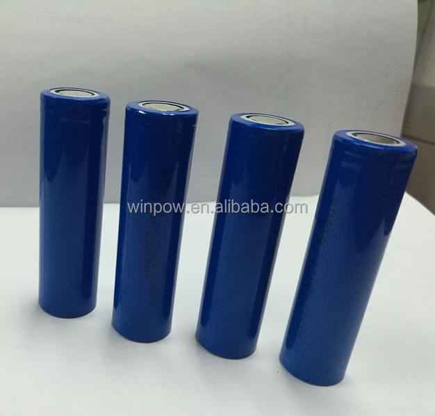 high quality 3.7v 18650 2600mah li ion lithium rechargeable battery