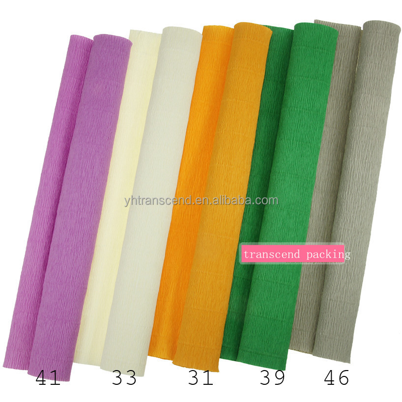 Crepe paper for flower wrapping