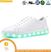 2016 latest design unisex USB charging casual LED light shoes,Led Light Up Shoes Sneakers
