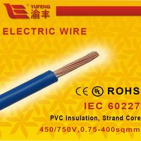 0.75mm 10mm Copper Insulated Electric Wire