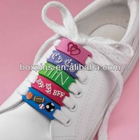 Hot Sale Lrubber Soft Pvc Shoelace