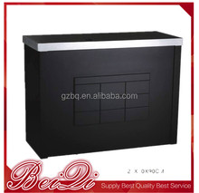 wholesale barber supplies salon shop using modern salon furniture design check out counter payment reception wooden table