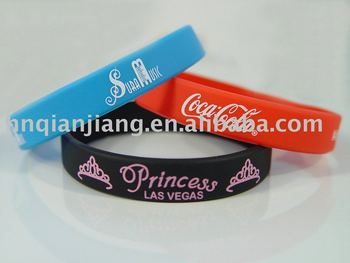 Promotion Rubber Bracelet