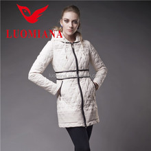 Hot sale shiny brand fashion spring ladies apparel agents KHF1406