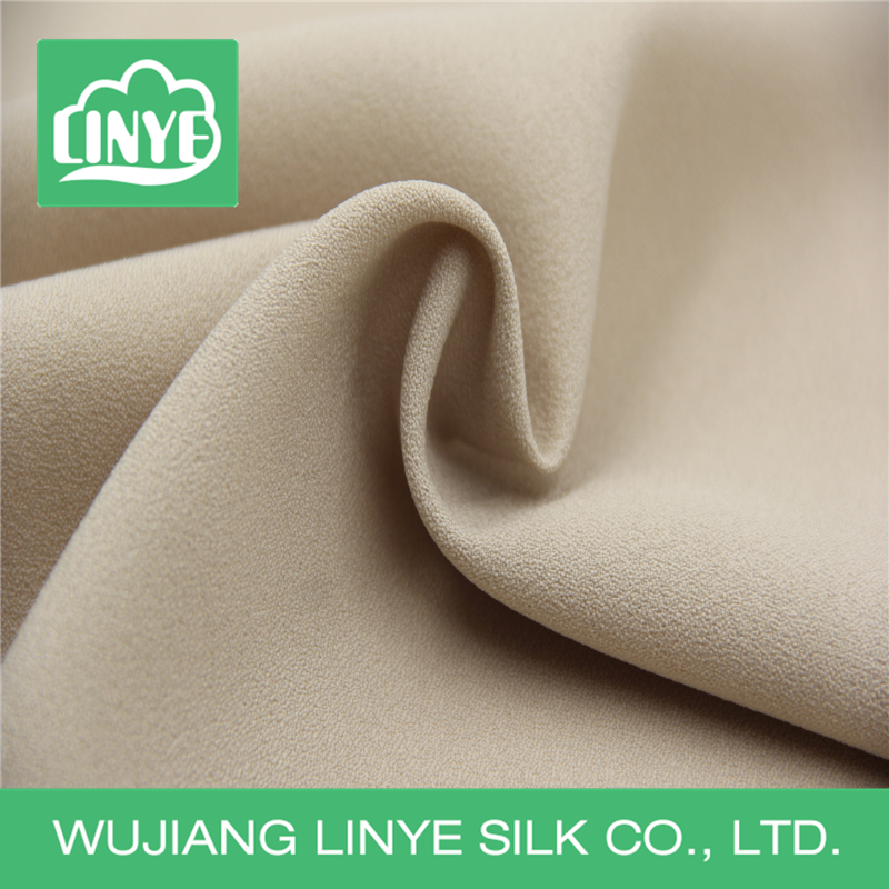 150D polyester chiffon with false twist for lady wear