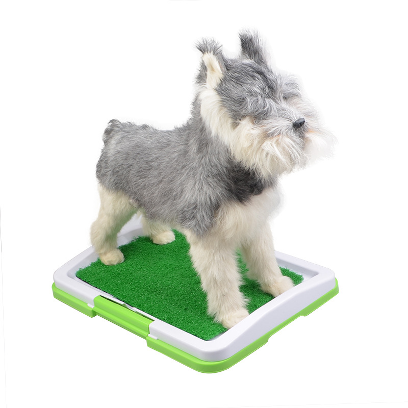 Very popular grass mat indoor pet toilet litter box porch potty for dogs