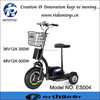 350w 500w Good quality adult tricycle 3 wheel electric scooter heavy loading