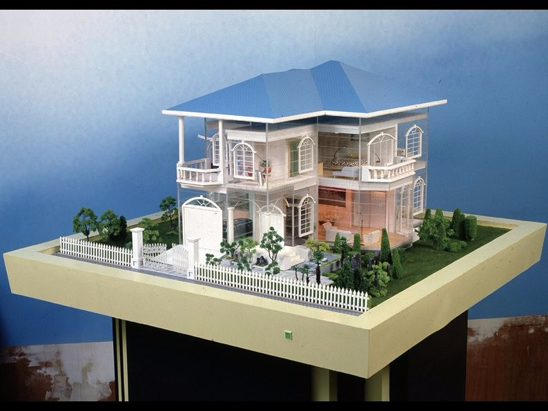 Scale model home for UK manchester project villa 1:50