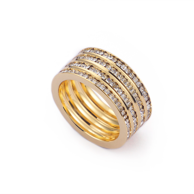 Flash Stone Rings&Jewelry Women