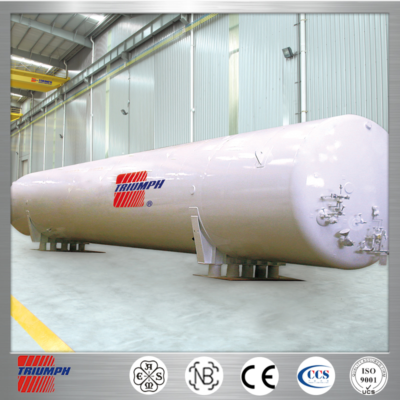 LNG Cryogenic Liquid iso Storage Tank for Industrial Use chemical