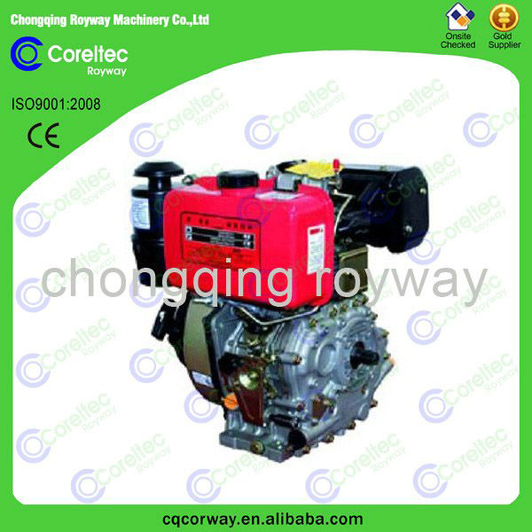 single cylinder air cooled diesel engine, 2013 hot selling diesel engine for bicycle