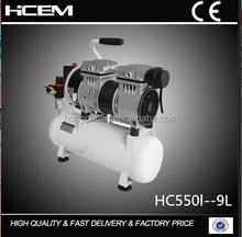 HC5501--9L Factory direct piston high pressure silent portable air compressor dryer