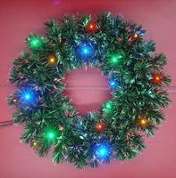 Fiber Optic Christmas Wreaths and Archs, Christmas Decorations